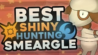 Smeargle  - (Pokémon) - BEST SHINY HUNTING SMEARGLE in Pokémon Sun and Moon! Easy Shiny Hunting Smeargle!