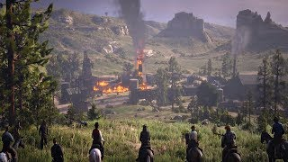Red Dead Redemption 2 - Native Americans & Dutch Gang vs U.S Army Mission
