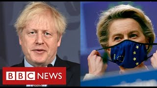 Brexit trade deal finally agreed - BBC News