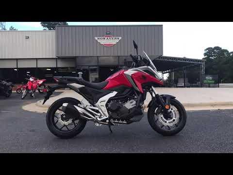 2021 Honda NC750X in Greenville, North Carolina - Video 1