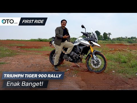 Triumph Tiger 900 Rally | First Ride | Enak Banget! | OTO.com