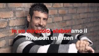 Francesco Gabbani - Amen - Karaoke con testo