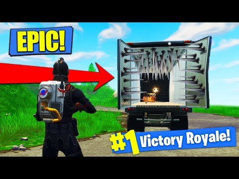 EPIC TRAP TRUCK STRATEGY In Fortnite Battle Royale!