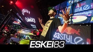Eskei83 - Live @ Red Bull Thre3style 2013 National Finals Toronto