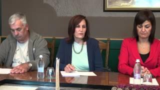 Podpis pogodbe za ureditev dovozne ceste do OŠ Ivana Cankarja Ljutomer