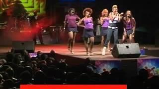Wahu performing Sweet Love at Safaricom KENYA LIVE Meru Concert