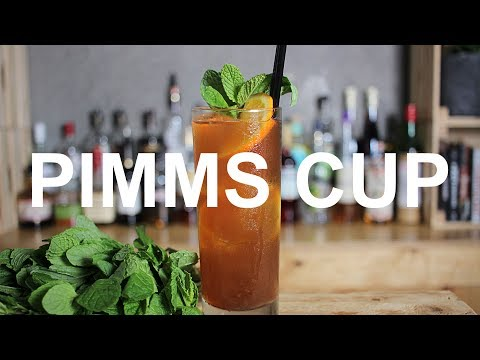 Pimms Cup Cocktail Recipe – REFRESHING!!