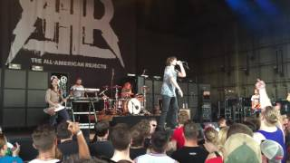 The All- American Rejects- We Don't Give A F*ck (live)