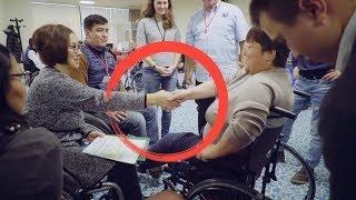 Подарок Мусульманам от Церкви Христа. Бесплатно коляски инвалидам.
