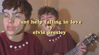 Cant help falling in love by Elvis Presley cover