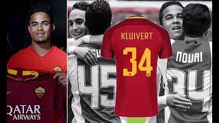 Breaking News Justin Kluivert Dedicates Roma Shirt Number To Friend Abdelhak Nouri