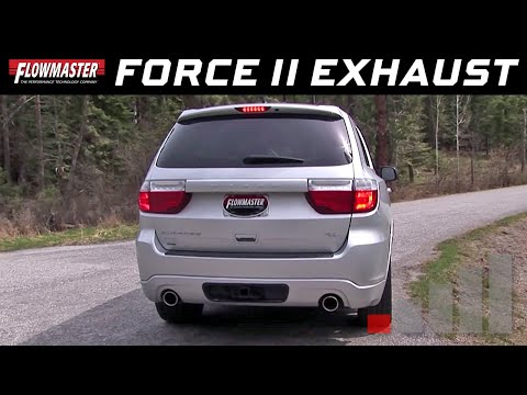 2011-19 Dodge Durango R/T 5.7L - Force II Cat-back Exhaust System 817651