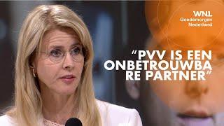 Mona Keijzer (CDA) sluit samenwerking met PVV uit: 'Het heeft de partij verscheurd'