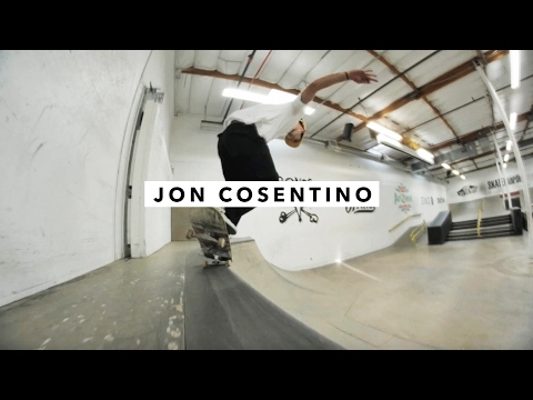 Afternoon in the Park: Jon Cosentino   TransWorld SKATEboarding