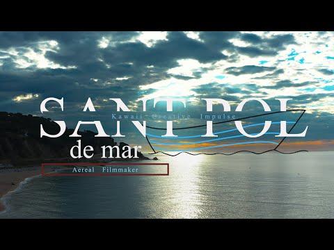 Sant Pol de Mar - 4k Ultra HD Drone Footage