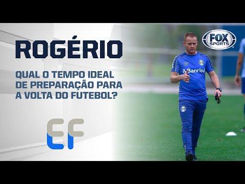 QUAL O TEMPO IDEAL DE PREPARAÇÃO PARA A VOLTA DO FUTEBOL? Rogério Dias, ex-preparador do Grêmio