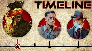 """The Complete Call of Duty Black Ops Zombies """"Aether"""" Timeline! 