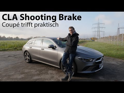 2020 Mercedes-Benz CLA 250 4MATIC Shooting Brake (X 118) Test / Coupé mit Kofferraum  - Autophorie
