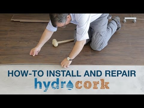 How to Install & Repair Hydrocork