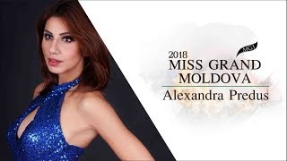 Alexandra Predus Miss Grand Moldova 2018 Introduction Video