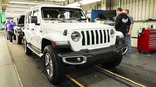 2020 Jeep Wrangler JL Factory - Toledo, Ohio Car Plant (USA)