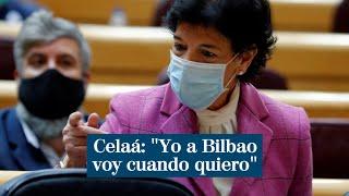 """Celaá justifica su salida a Bilbao durante el estado de alarma: """"Yo a Bilbao voy cuando quiero"""""""