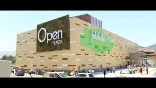 preview picture of video 'Jardín vertical en Chile - Ovalle, Centro comercial Open Plaza'