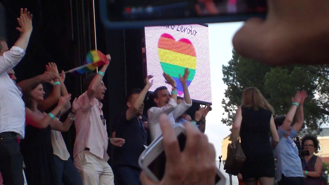 Pablo Iglesias en el Orgullo Gay 2015 – Madrid