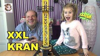 XXL RIESEN KRAN - Elektronischer Spielspaß für die Baustelle im Kinderzimmer