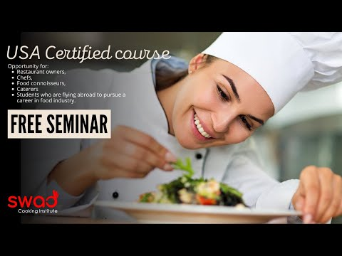 USA Certified Course | FREE Seminar | Short Term Course | Culinary