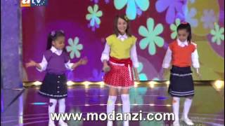 Bir Şarkısın Sen 04.08.2012 | Cici Kızlar - Delisin ( Mukaddes - Seray - Ceren ) | Modanzi.com.tr