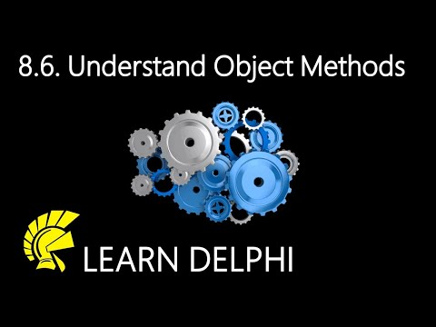 Delphi Programming Tutorial – Unit 8.6 – Understanding a Delphi Object's Methods