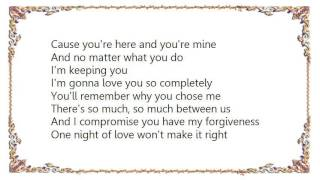 Chanté Moore - I'm Keepin' You Lyrics