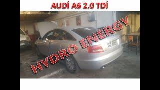 AUDİ A6 2.0 TDİ hidrojen yakıt tasarruf sistem montajı