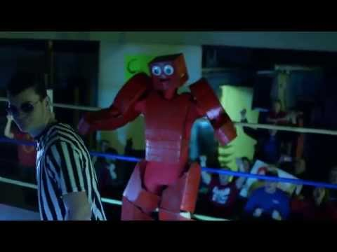 Rocky the Red Rock'em Sock'em Robot