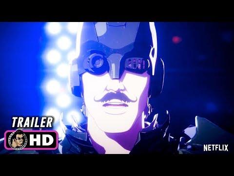 LEVIUS Trailer (2019) Netflix Anime