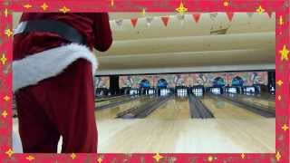 Santa Claus bowling phenomenon