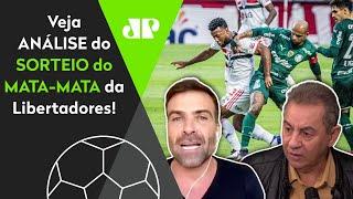 'Cara, pode ter Palmeiras e São Paulo nas quartas da Libertadores'; veja análise do mata-mata