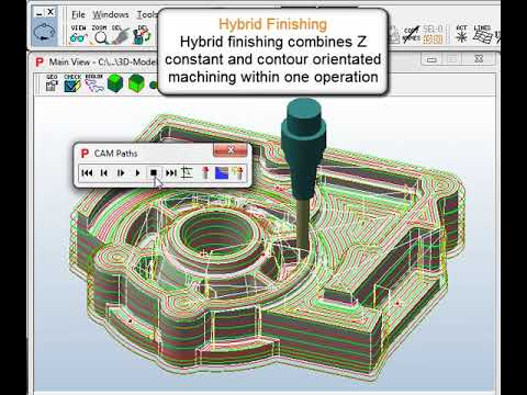 Pictures by PC CAM Software - Model Making and Prototyping