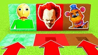DO NOT CHOOSE THE WRONG HOLE!(BALDI, PENNYWISE, FNAF)(Ps3/Xbox360/PS4/XboxOne/PE/MCPE)