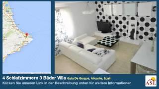 preview picture of video '4 Schlafzimmern 3 Bäder Villa zu verkaufen in Gata De Gorgos, Alicante, Spain'