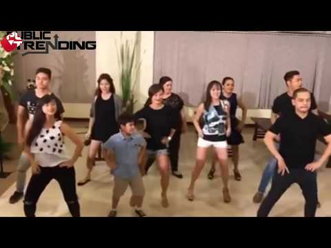 CRISTINE REYES TRUMPET DANCE CHALLENGE