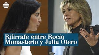 Rifirrafe entre Rocío Monasterio y Julia Otero