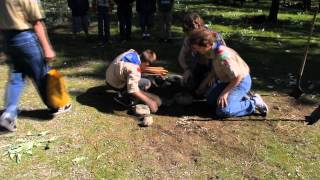 Boy Scouts Campfire Safety