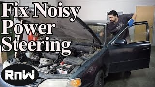 How to Diagnose and Fix a Noisy or Sticking Power Steering Wheel