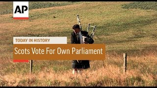 Scots Vote For Own Parliament - 1997   Today In History   11 Sept 17