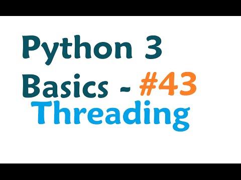 mp4 Python Tutorial Thread, download Python Tutorial Thread video klip Python Tutorial Thread