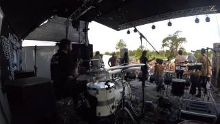 Tropical Zombie - Call the Police LIVE@MSF (Drum Cam)