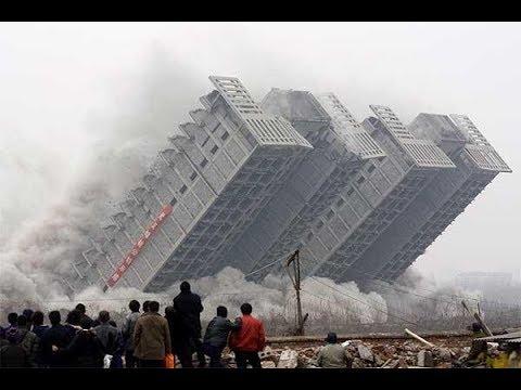 Gebouw ingestort | gebouwen vernietigen | met behulp van bommen | heel snel | blaas het gebouw op #2