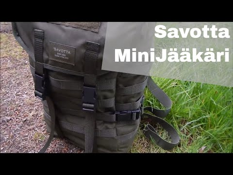 Savotta Jäger Mini / MiniJääkäri - kleiner Bushcraft Rucksack | Bushcraft Outdoor Ausrüstung